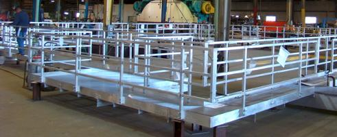 Fabricated Stairs Platforms Ladders